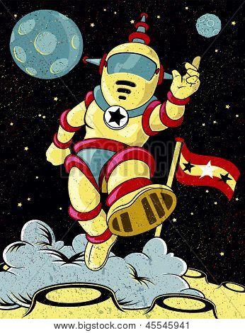 Retro Spaceman