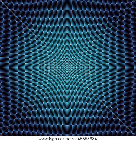 Blue Neon Fraktal