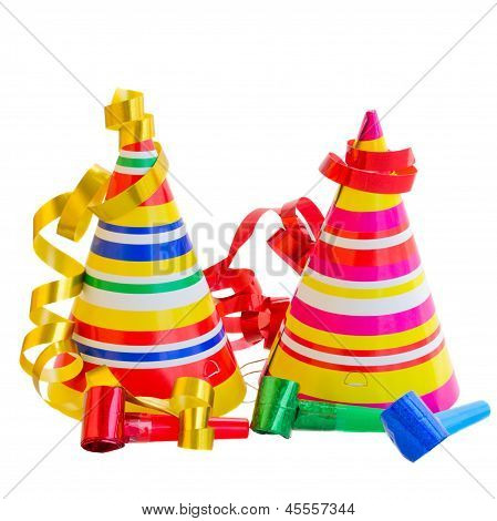 Hats and Decorations for birthday party