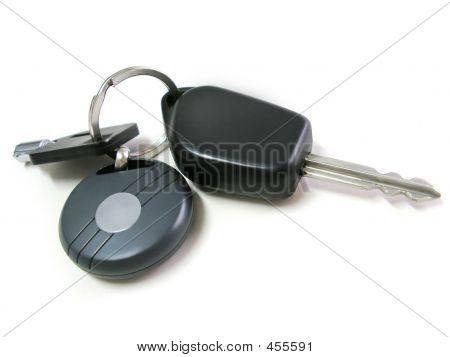 Schlüssel Auto isoliert