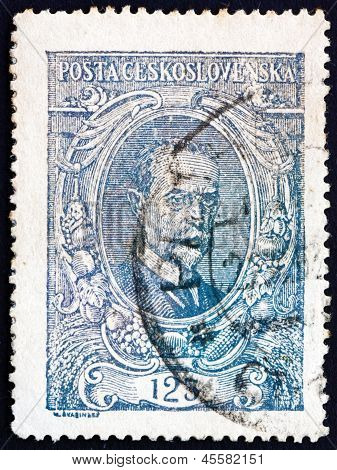 Postage Stamp Czechoslovakia 1920 Tomas Garrigue Masaryk