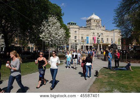 Springtime in Stockholm