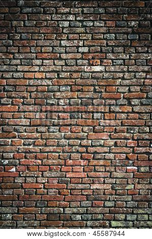 Old Brick Wall Urban Background