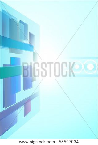 Abstract Background - Boxes 1 - Illustration