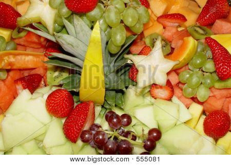 Fresh Tropical Fruit Closeup