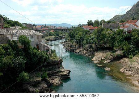 Panorama Of Mostar