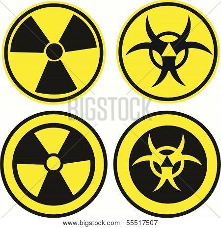 Bio Hazard Icons