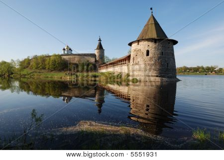 The Pskov Kremlin. Russia