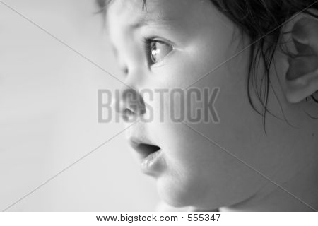 Child Profile Soft Focus