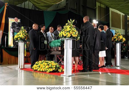ANC Ceremony for Mandela