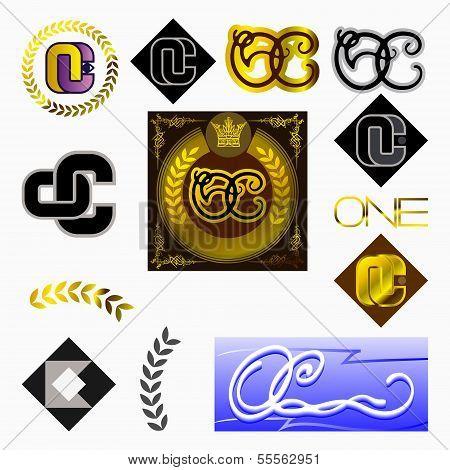 monogram OC