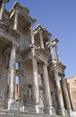 Celsus library in ancient town of Ephesus Turkey poster