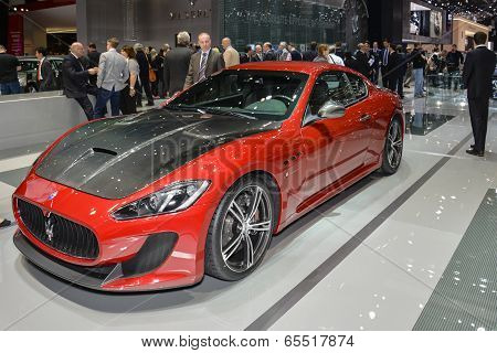 Maserati Granturismo Mc Stradale At The Geneva Motor Show