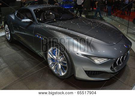 Maserati Alfieri Concept At The Geneva Motor Show
