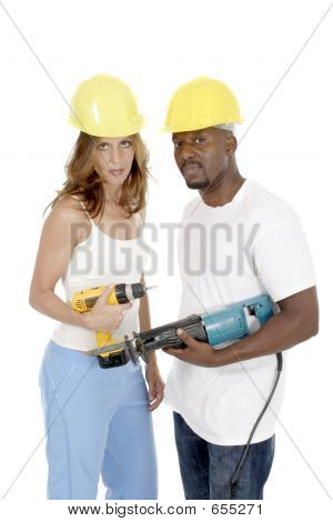 Tool Girl And Guy 2
