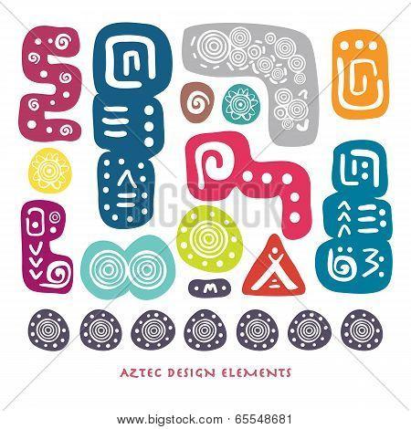 Aztec Design Elements