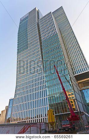 Facade Of An Skyscraper