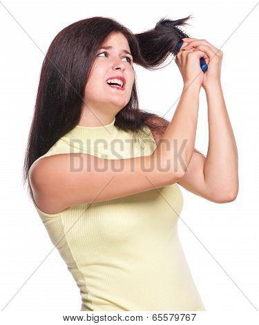 Enraged Girl
