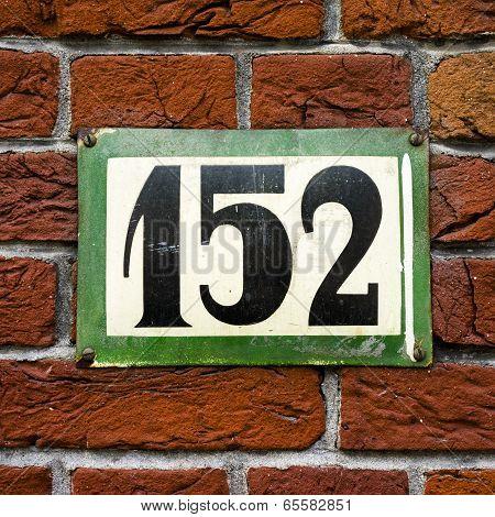 Number 152