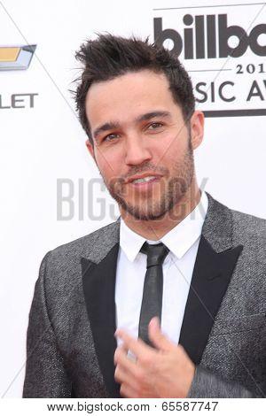 LAS VEGAS - MAY 18:  Pete Wentz at the 2014 Billboard Awards at MGM Grand Garden Arena on May 18, 2014 in Las Vegas, NV