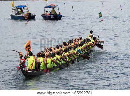 2014 Dragon Boat Race, Hong Kong