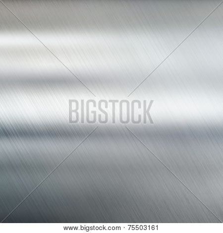 Metal texture brushed steel background