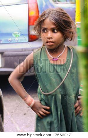 Female Street Performer