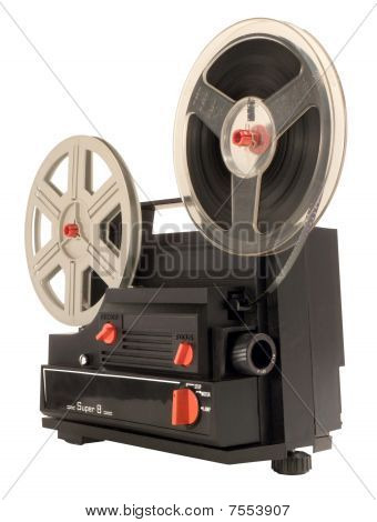 Super 8 Film Projector