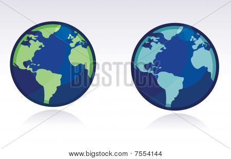 Vector Globe / World Map