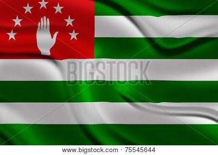 Amazing Flag of Abkhazia