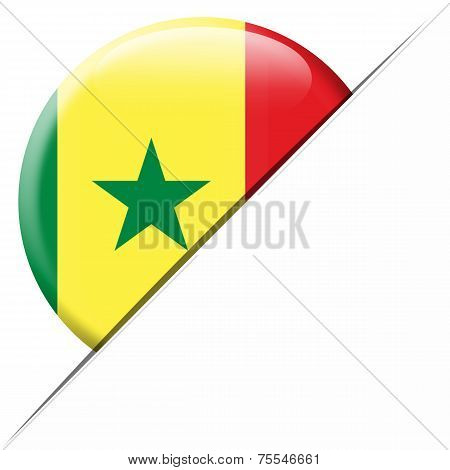 Senegal Pocket Flag