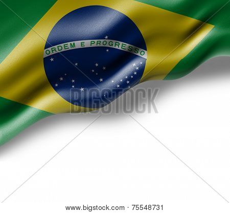 Amazing Flag of Brazil ( South America )