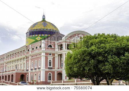 Amazon Theater in Manaus, Brazil