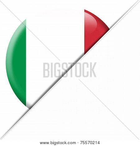 Italy Pocket Flag