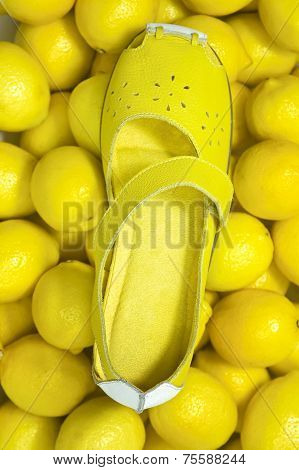 Lamon Yellow Shoe