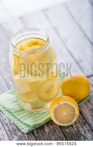 Lemon Infuse Water