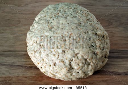 Seven-Grain Bread, Kneaded Dough Ball