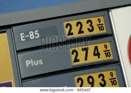 E-85 prices 3