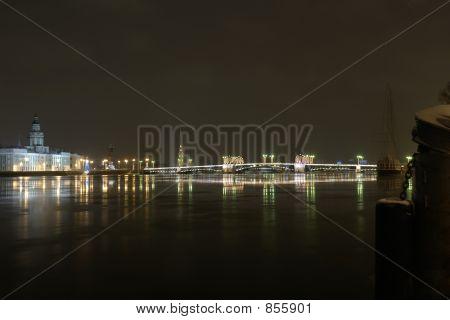 water area of neva river
