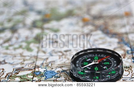 Satellites Adventure - Map And Compass.