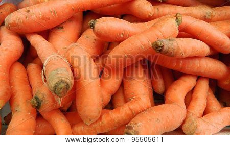 Carrot In Market