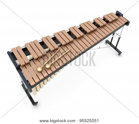 Xylophone On A Whitre