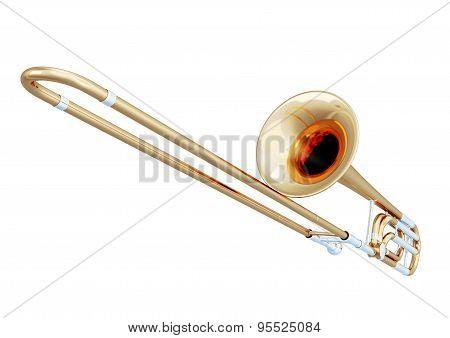 Trombone Close-up