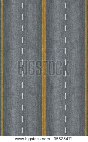 Seamless Road Texture
