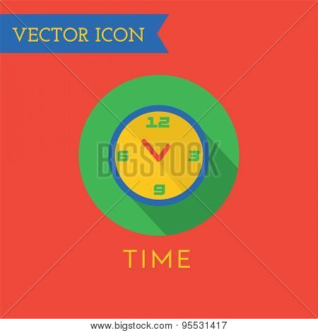 Watch Icon Vector Icon. Sound, tools or Dj and note symbols. Stocks design element.