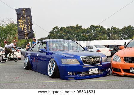 Modifications Car Show At The 4Th Anniversary Of Flushstyle Thailand.