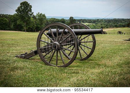 Cannon from a Civil War Battlefield