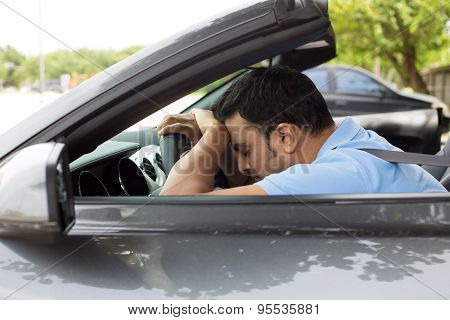 Asleep At Driving Wheel