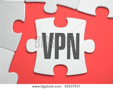 VPN - Puzzle on the Place of Missing Pieces.
