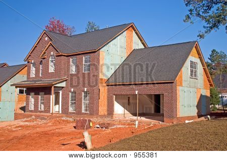 New Brick Front Home